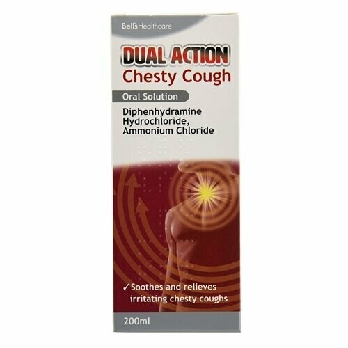 BELLS MB CHESTY COUGH 200ML
