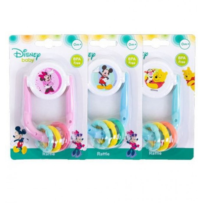DISNEY BABY RATTLE AND TEETHER