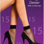 P/LEGS 15D ANKLE HIGHS 4PP 1SIZE NATURAL