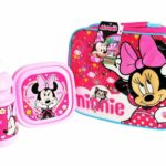 MINNIE MOUSE SMILE LUNCH BAG SET