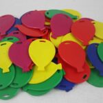 BALLOON SHAPE WEIGHTS PRIMARY MIX 100PC