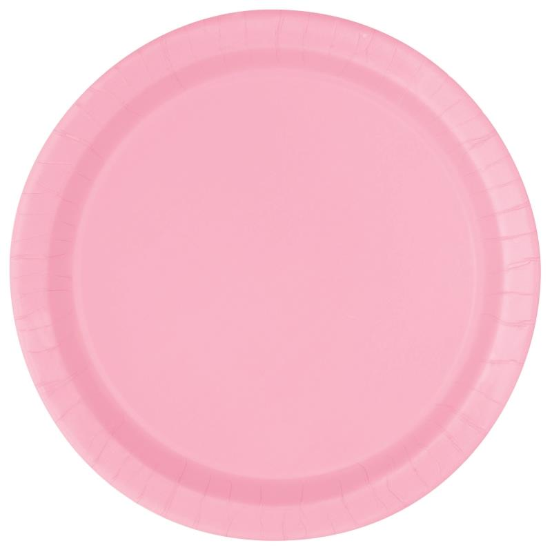 16 LVLY PINK 9″ PLATES