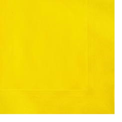 20 SUNFLWR YELLOW LUNCH NAPKINS