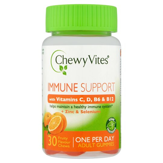 CHEWY VITES ADULTS IMMUNE SUPPORT 6X30S