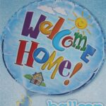 18″ WELCOME HOME FOIL BALLOON