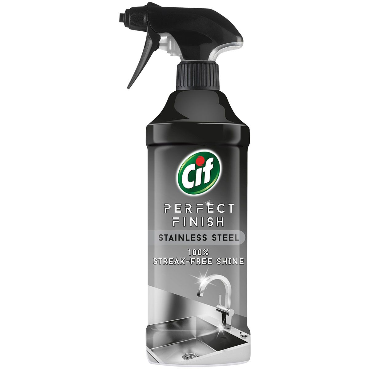 CIF 435ML STAINLESS STEEL CLEANER