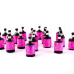 20 GLITZ PINK HOLOGRAPHIC POPPERS