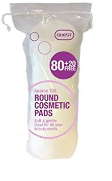 QUEST ROUND COSMETIC PADS 100S