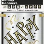 HAPPY NEW YEAR BLOCK BANNER