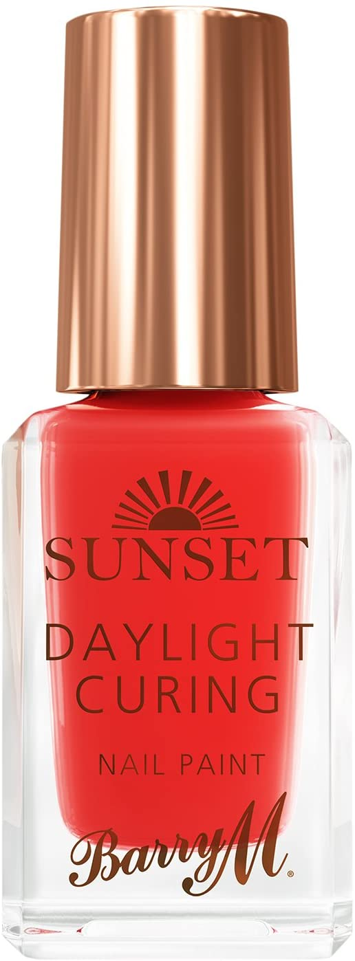 BARRY M SUNSET N/POLISH THINGS SHE RED