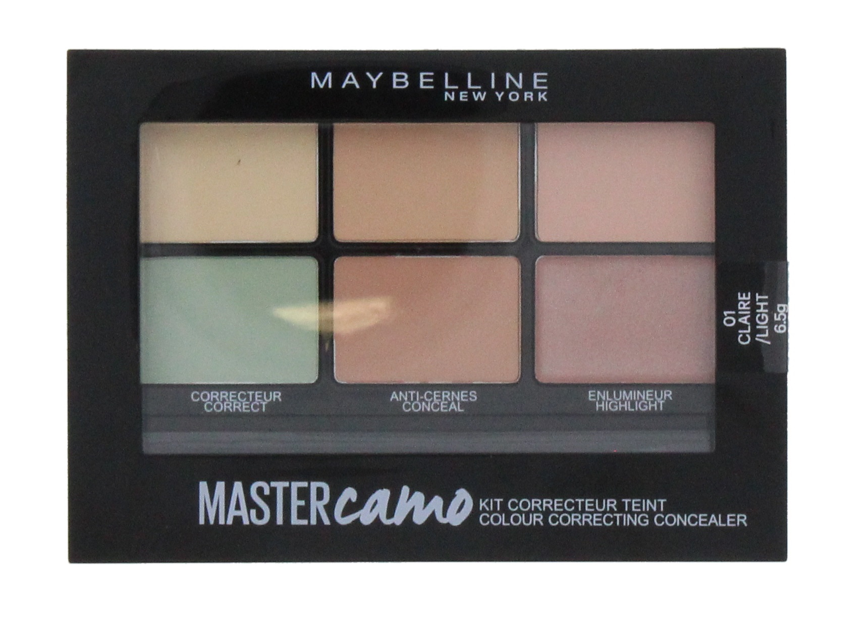 MAYBELLINE CORRECTING CONCEALER KIT CAMO