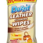 LEATHER CLEANING WIPES 50PK
