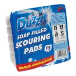 SOAP FILLED SCOURING PADS 15S