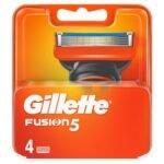 GILLETTE FUSION 5 BLADES 4S