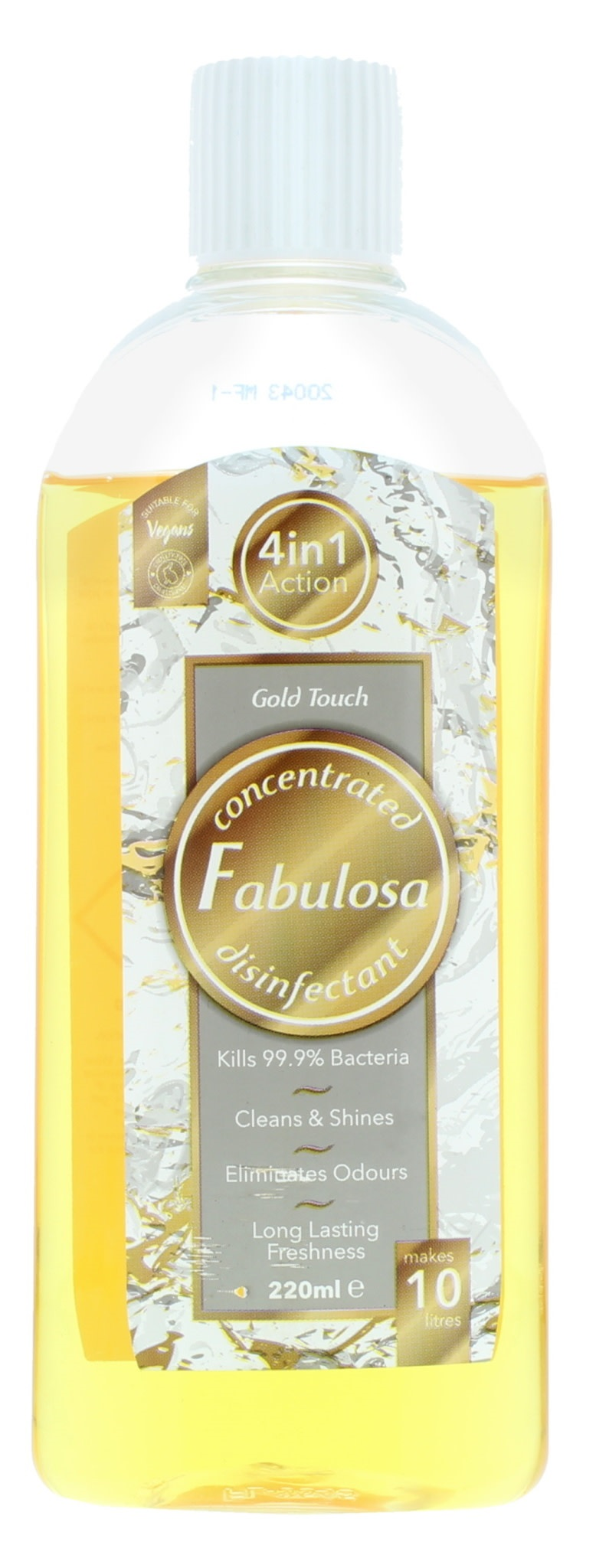 FABULOSA 4IN1 DISINFECT GOLD TOUCH 220ML