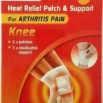 HEAT RELIEF PATCH & SUPPORT KNEE