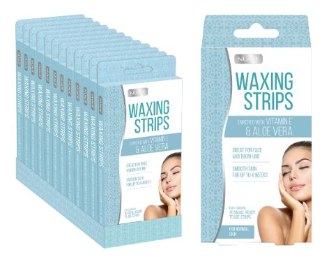 NUAGE WAXING STRIPS 20 SMALL