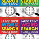 WORD SEARCH PUZZLE BOOK LARGE PRINT