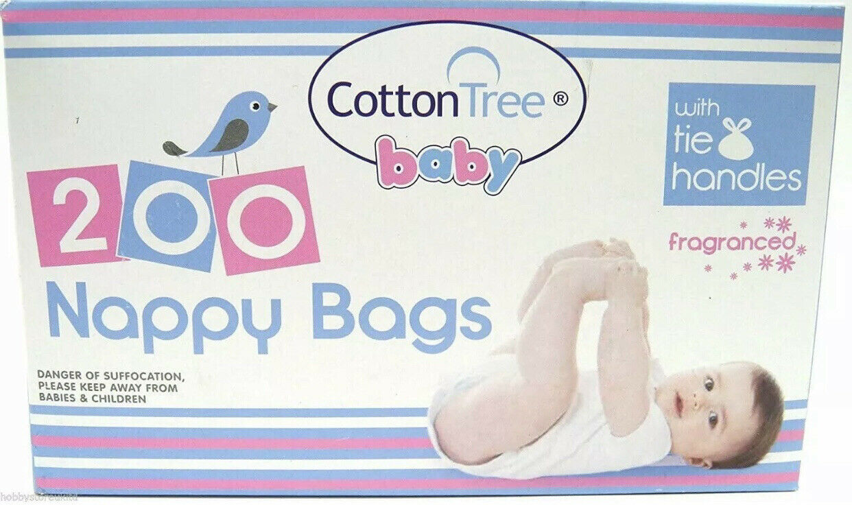 FRAGRANCED NAPPY BAGS 200S