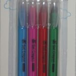ACT. 4 PACK GEL COLOURING CRAYONS